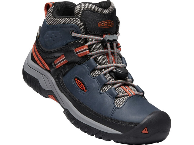 Keen Junior Targhee WP Mid Shoes blue night/ro tea